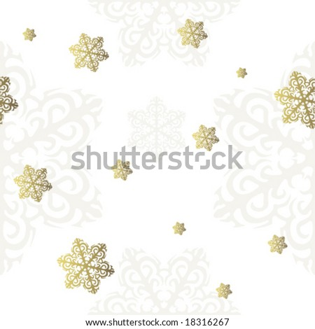New Year\'s seamless pattern