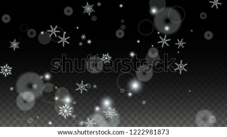stock-vector-new-year-vector-background-with-white-falling-snowflakes-isolated-on-transparent-background