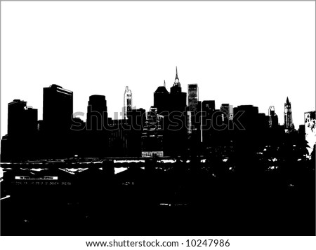 stock vector : new york city