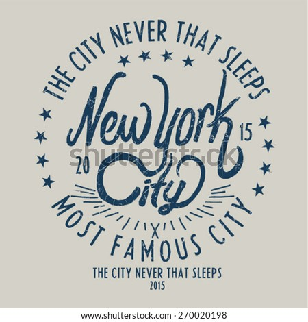 new york city   graphic design