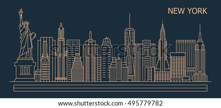new york city linear style