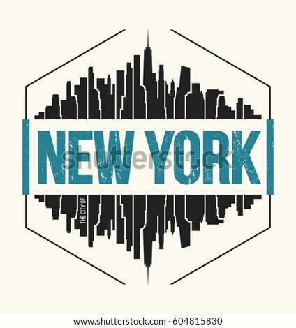 new york city t shirt design...