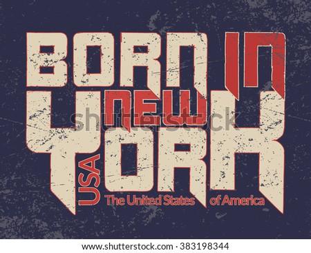new york city typography...