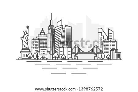 new york city  usa architecture