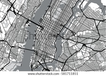 Free Map Of New York City.New York City Map Illustration Download Free Vector Art Stock