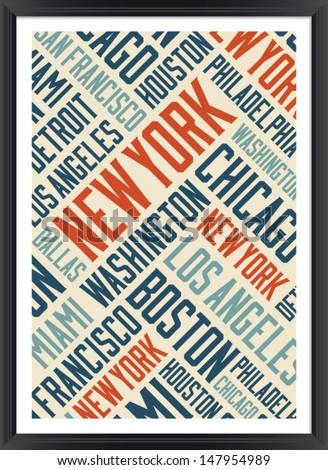 new york city words cloud