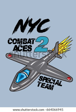 new york combat aces t shirt