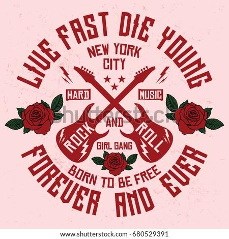 new york girl gang  rock and