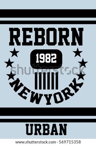 new york reborn urban t shirt