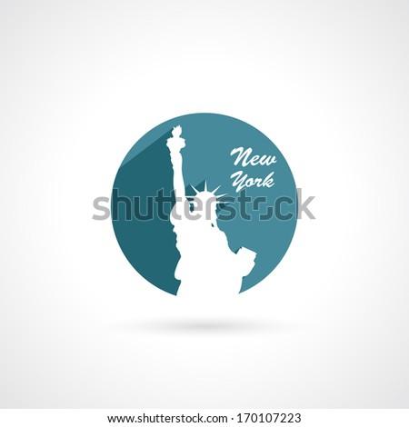 New York sign - vector illustration