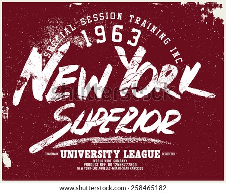 new york superior tee graphic