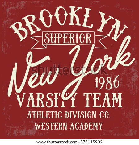 new york typography design
