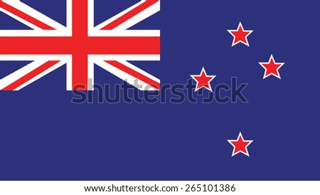 new zealand  flag for