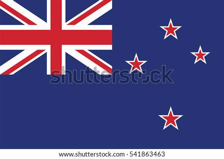 new zealand flag vector format