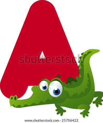 Newest ABC animals: A is for Alligator