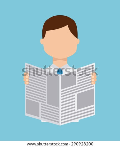 news concept design  vector