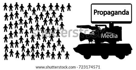news fake propaganda  mass