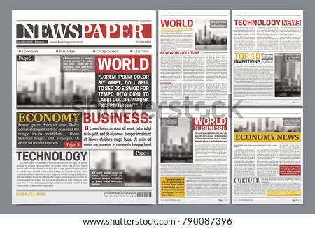 Newspaper Vector Download Free Vector Art Stock Graphics Images