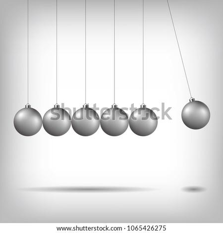 newton's cradle  pendulum
