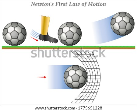 Newton's First Law of Motion states that an object in motion tends to stay in motion unless an external force acts upon it.