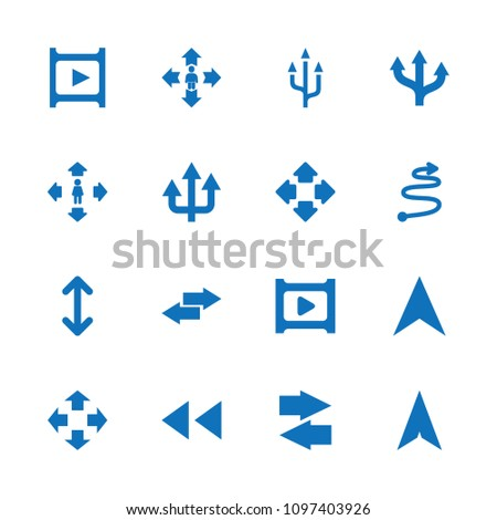 Next icon. collection of 16 next filled icons such as man move, move, navigation arrow, play, arrow, curved arrow. editable next icons for web and mobile.