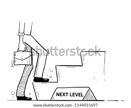 next level hand drawn