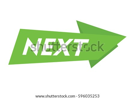 next vector banner icon arrow