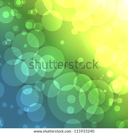 Nice abstract background with several lights, shines and bright effects. Awesome vector design