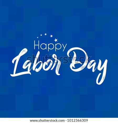 nice and beautiful abstract for Australia Labour Day with nice and creative design illustration.