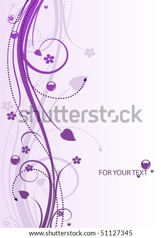 Nice background with a pattern for the design and advertising. Vector.