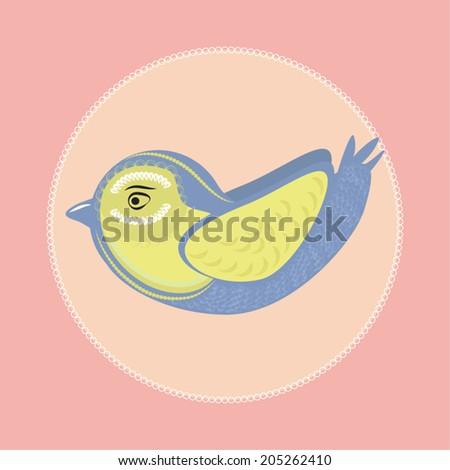 Nice bird vector