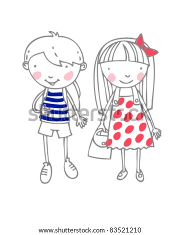 nice boy and girl