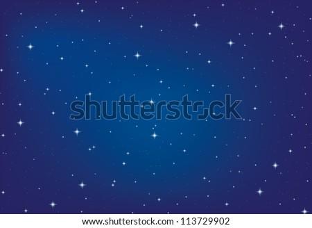 nice bright stars in the night