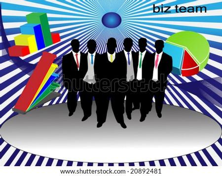 nice conceptual business illustration