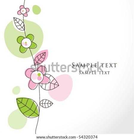 Nice Greeting Card Template Cute Simple Artistic Hand Drawn – Online Greeting Card Template
