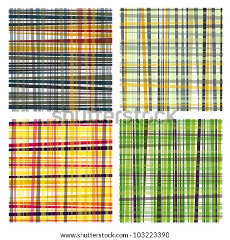 nice set of retro style striped backgrounds