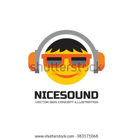 nice sound   vector logo