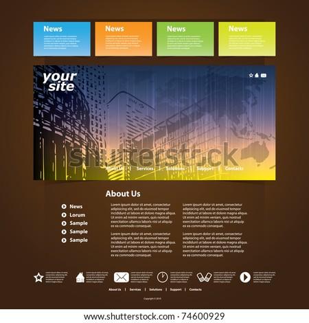 Nice Website Template