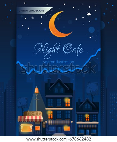 night cafe in the night city