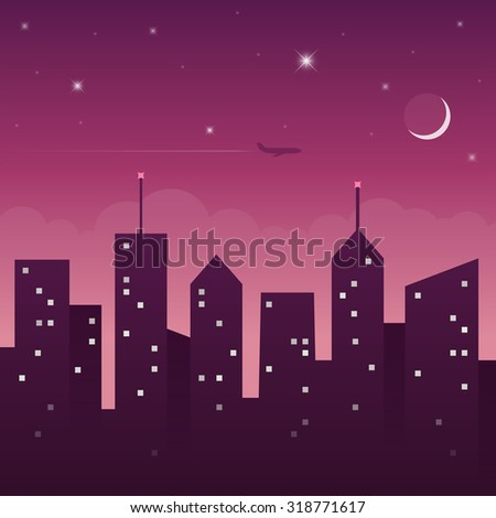 night city landscape