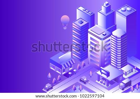 night city landscape cityscape