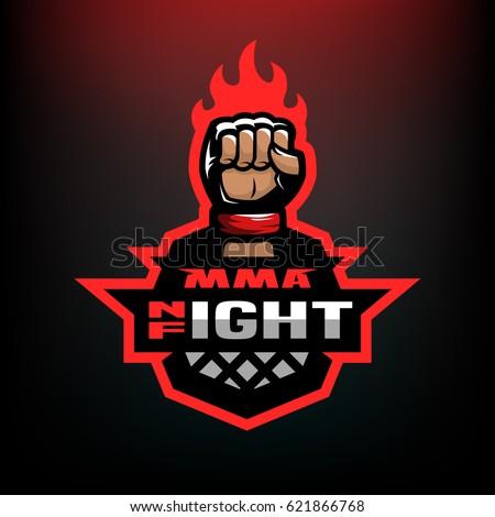 night fight mixed martial arts