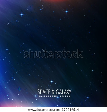 night sky universe background