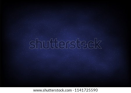 night sky vector abstract