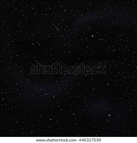 night sky with stars   universe