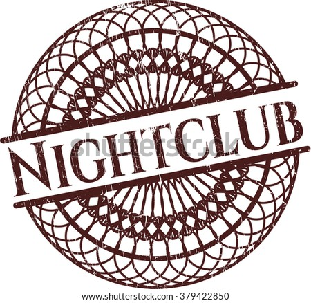 Nightclub rubber texture