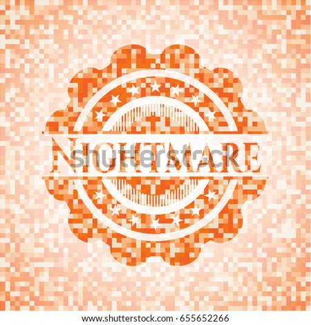 nightmare abstract emblem