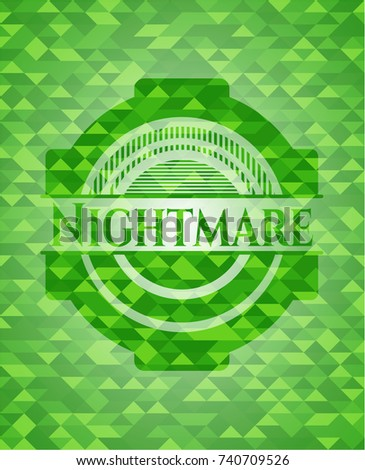 nightmare green emblem with