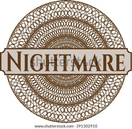 Nightmare rosette (money style emplem)