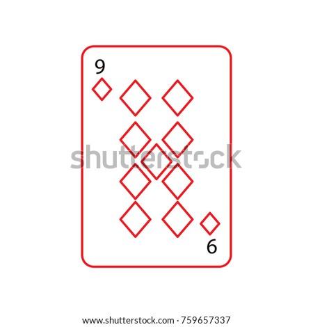 nine of diamonds or tiles